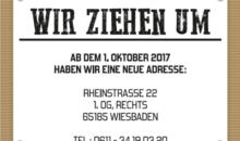 Neue Adresse Rheinstrasse 22, 65185 Wiesbaden